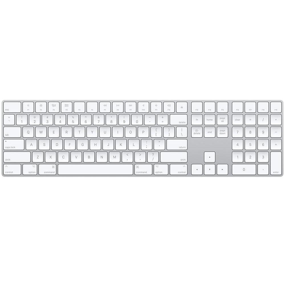 Клавиатура Apple Magic Keyboard with Numeric Keypad Wireless MQ052