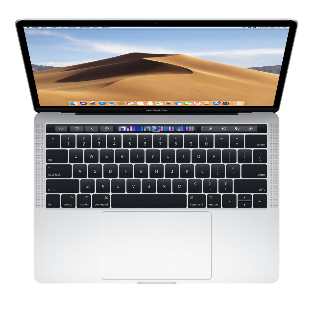 "Apple MacBook Pro 13.3"" MR9U2 Silver (Mid 2018)"