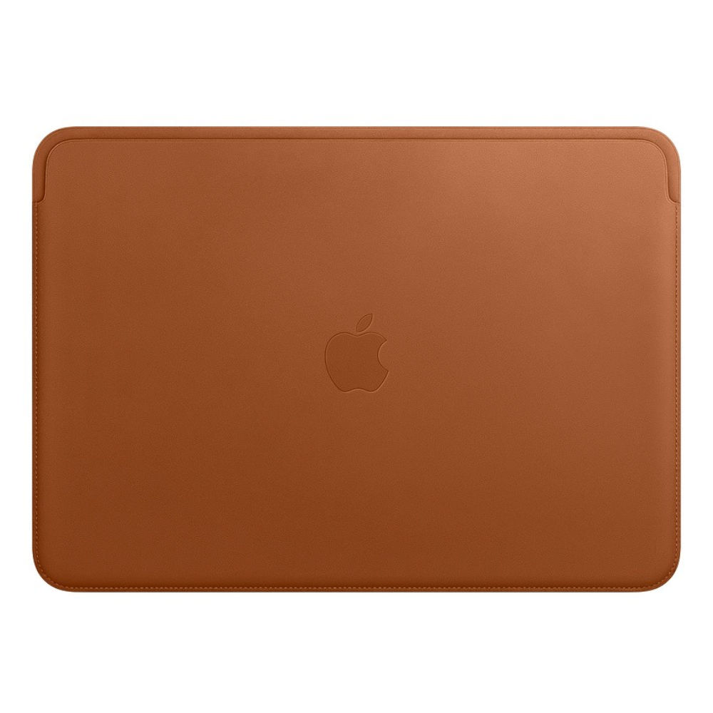 Чехол Apple Leather Sleeve for 13-inch MacBook Air and MacBook Pro Saddle Brown MRQM2