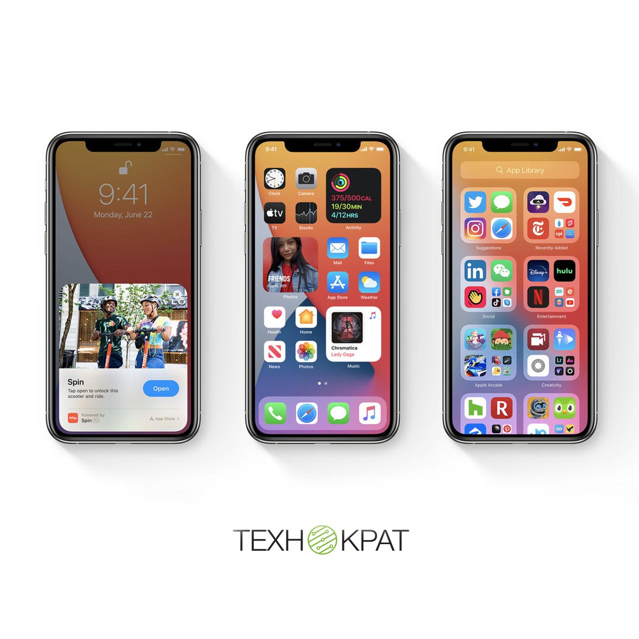 Головні нововведення iOS 14