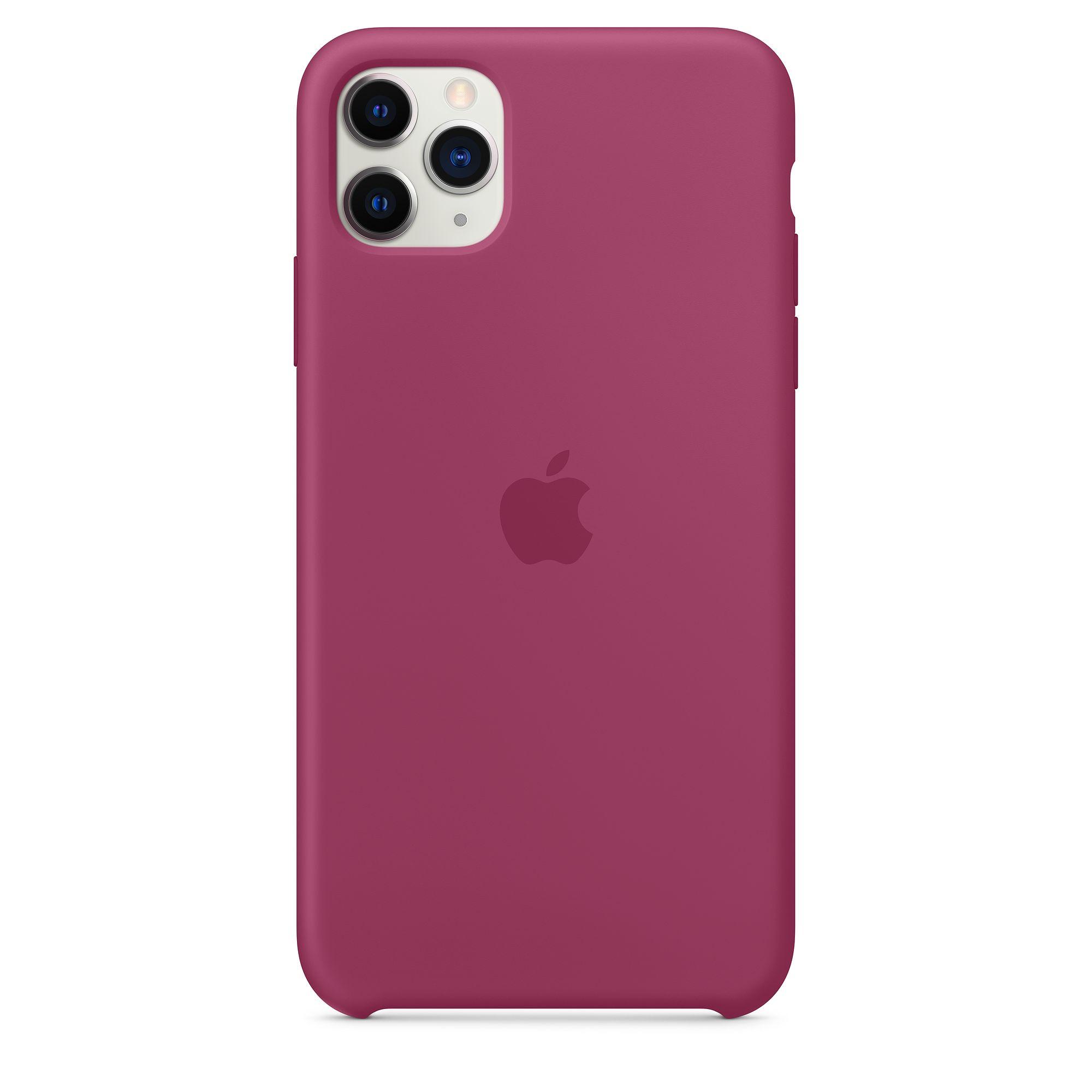 Чехол Apple для iPhone 11 Pro Max Silicone Case Pomegranate MXM82