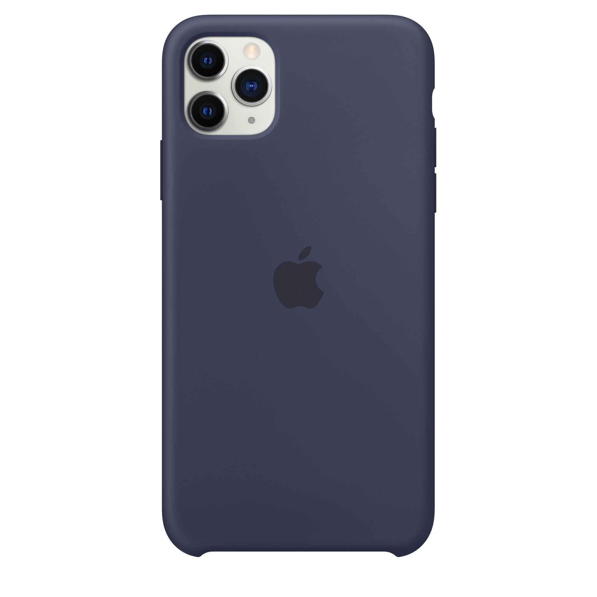 Чехол Apple для iPhone 11 Pro Max Silicone Case Midnight Blue MWYW2