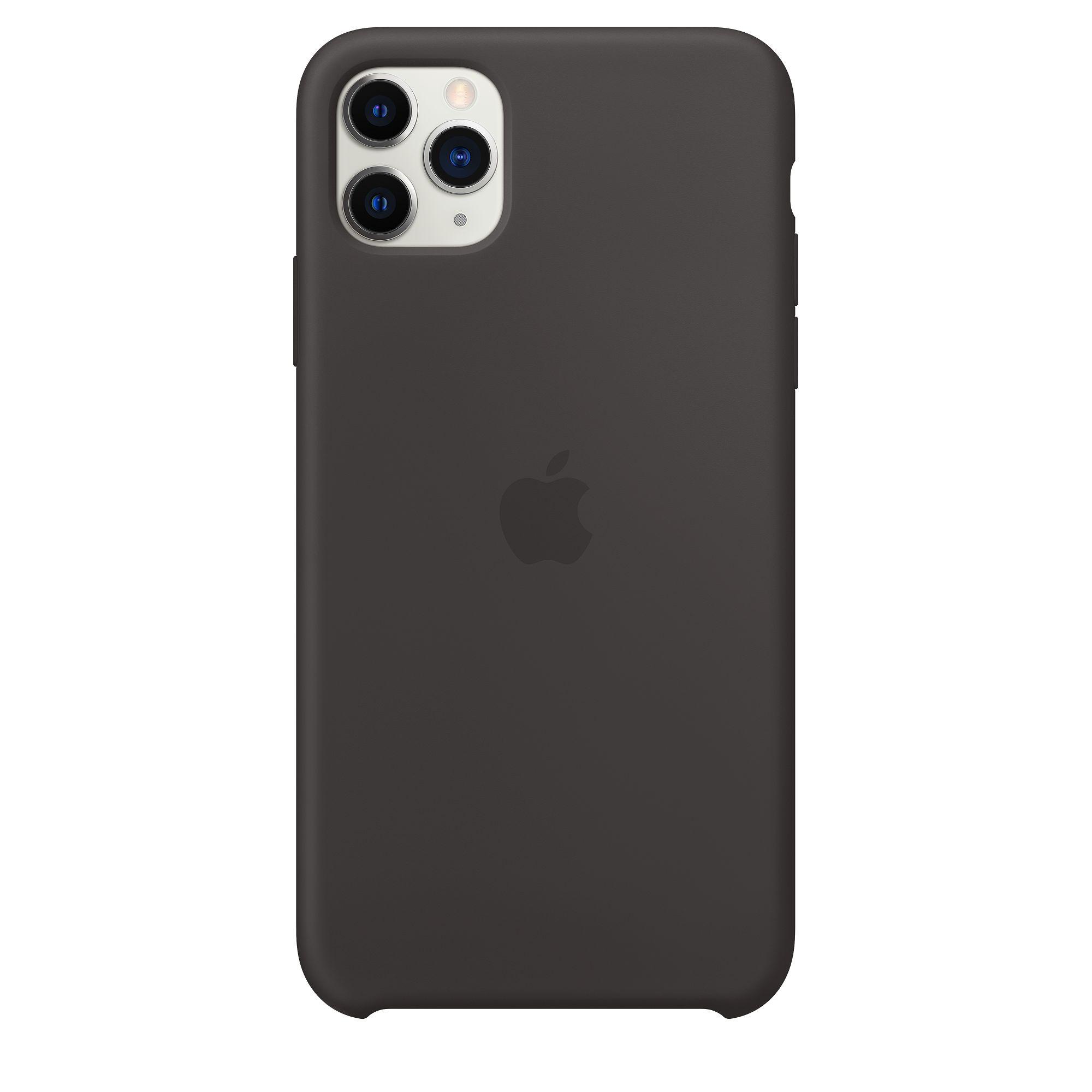 Чехол Apple для iPhone 11 Pro Max Silicone Case Black MX002