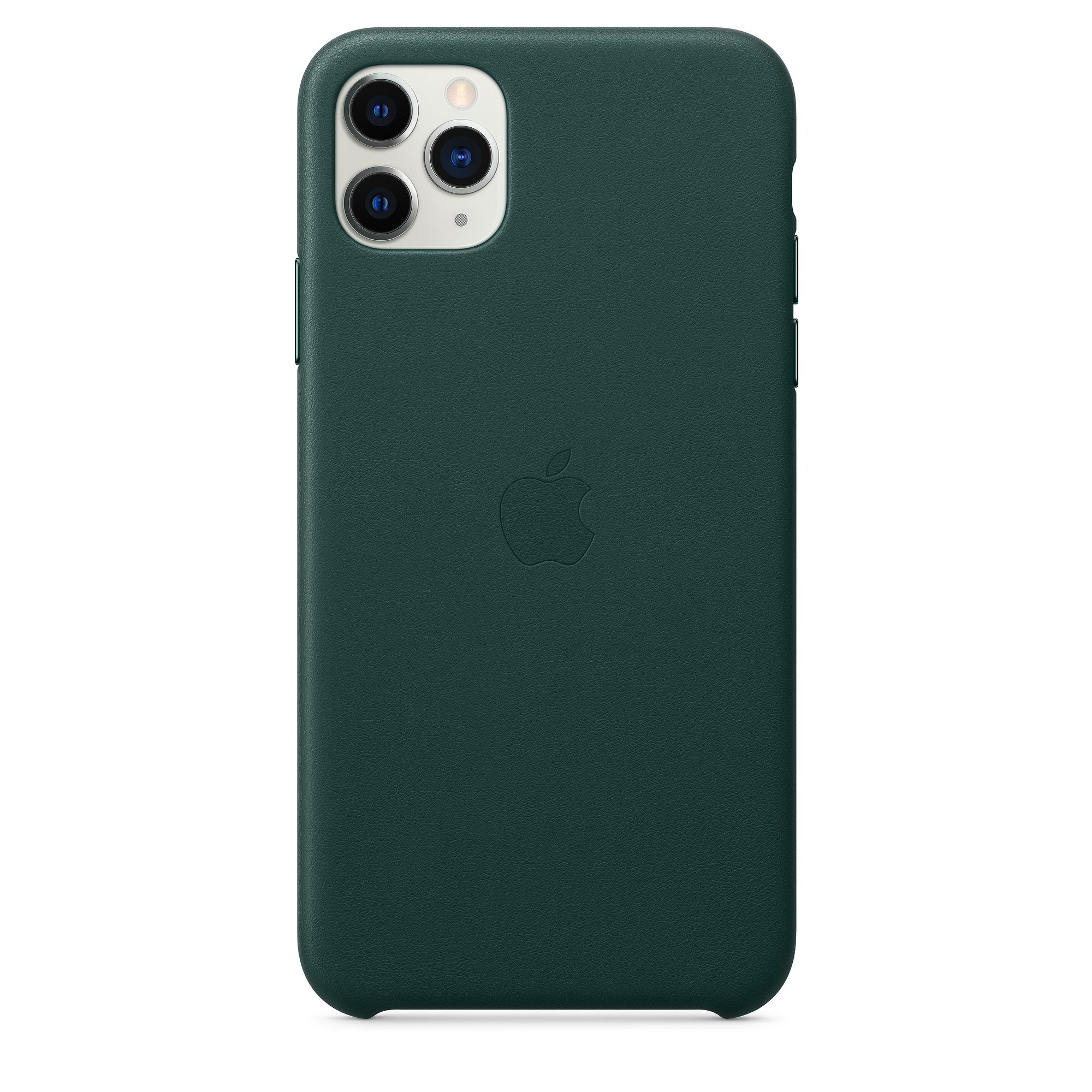 Чехол Apple для iPhone 11 Pro Max Leather Case Forest Green MX0C2