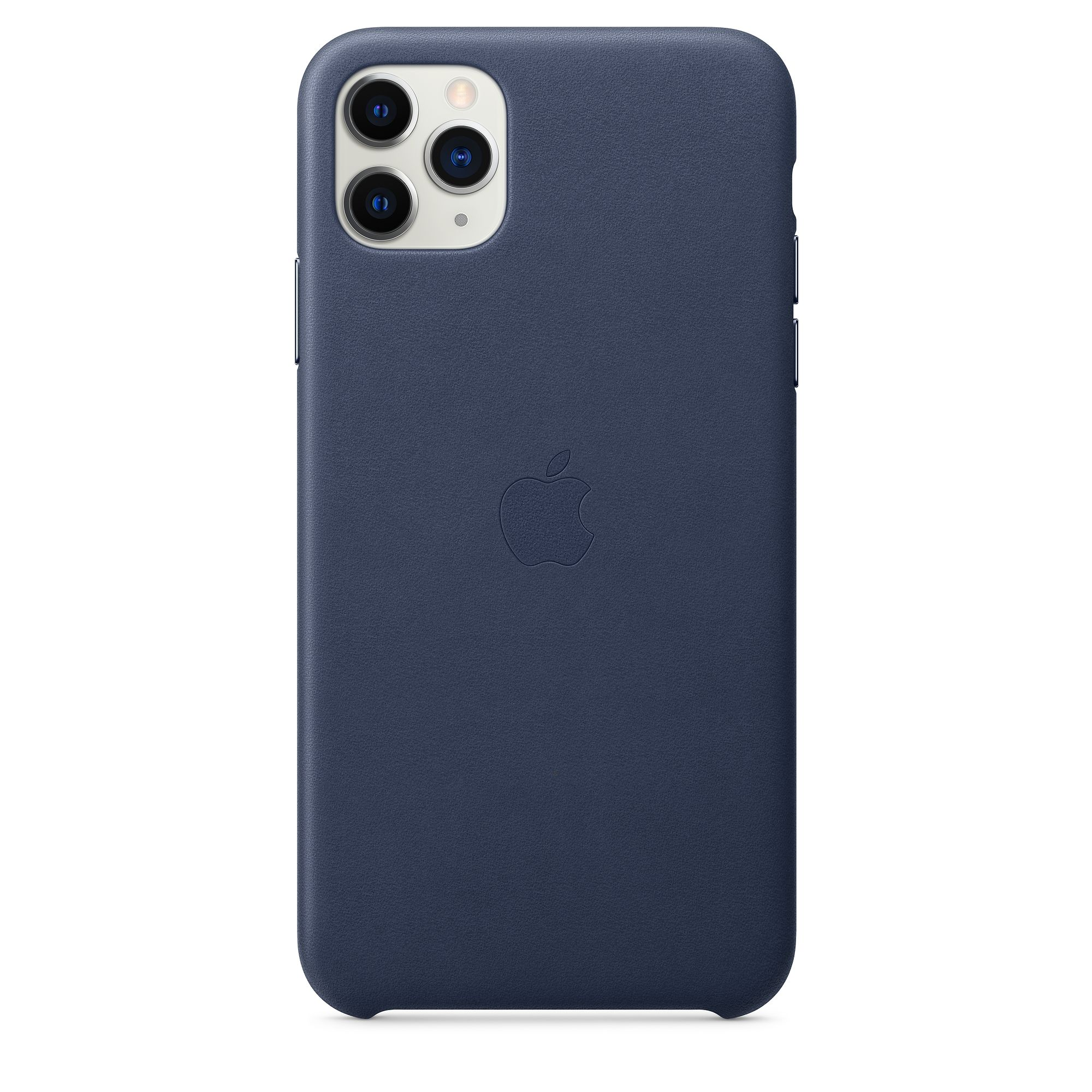 Чехол Apple для iPhone 11 Pro Max Leather Case Midnight Blue MX0G2