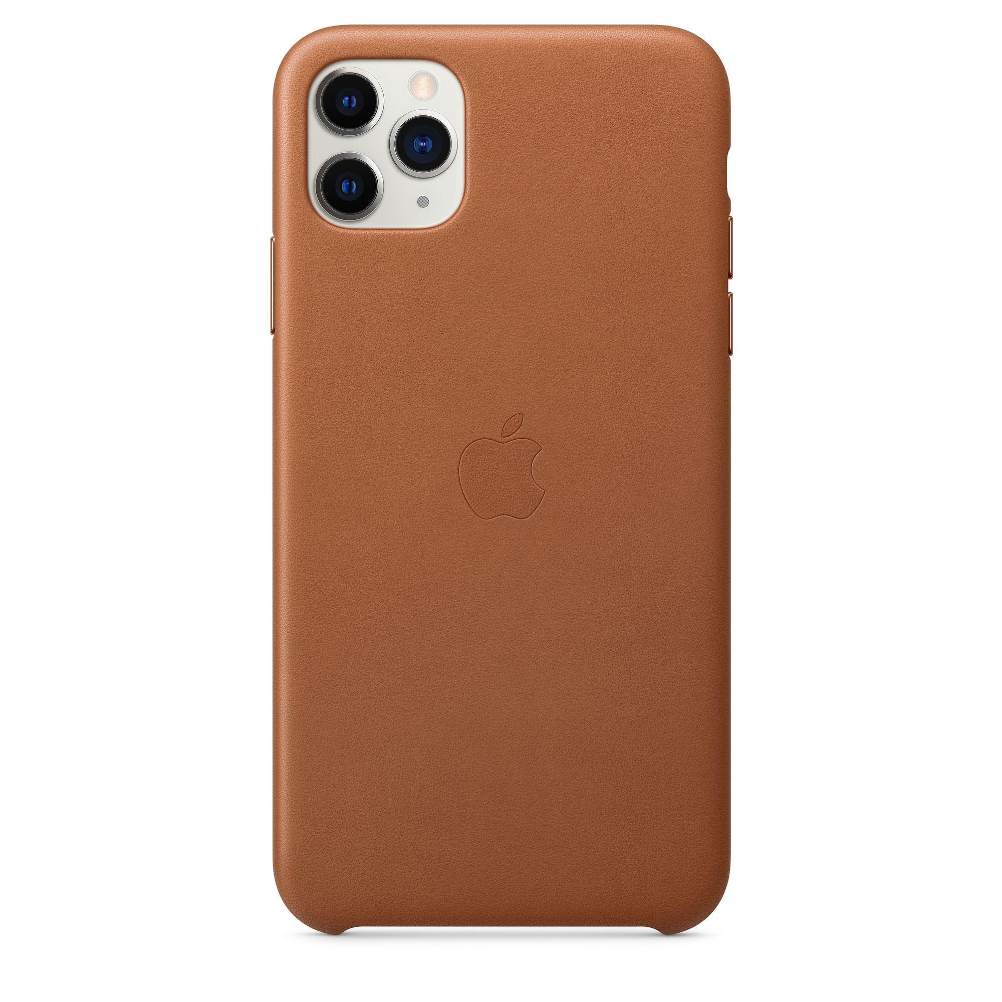 Чехол Apple для iPhone 11 Pro Max Leather Case Saddle Brown MX0D2