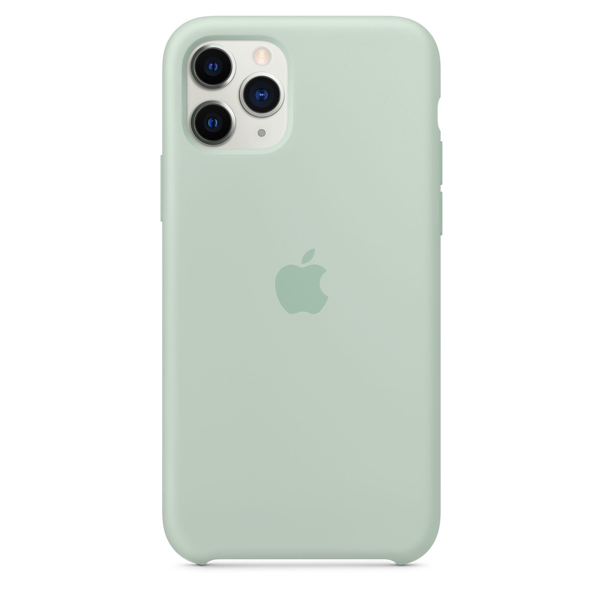 Чехол Apple для iPhone 11 Pro Silicone Case Beryl MXM72