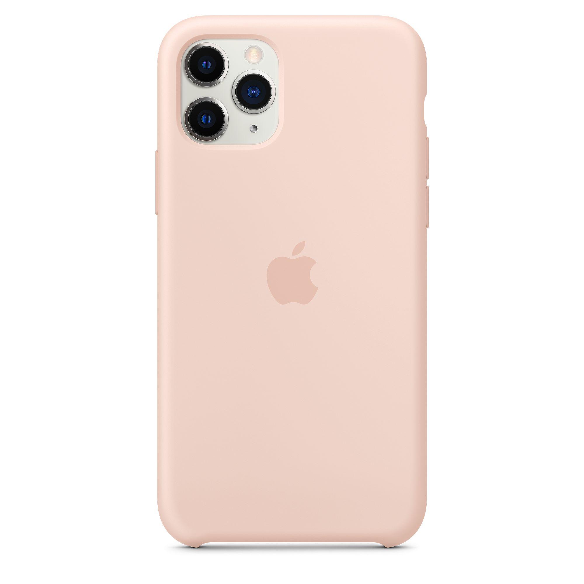 Чехол Apple для iPhone 11 Pro Silicone Case Pink Sand MWYM2