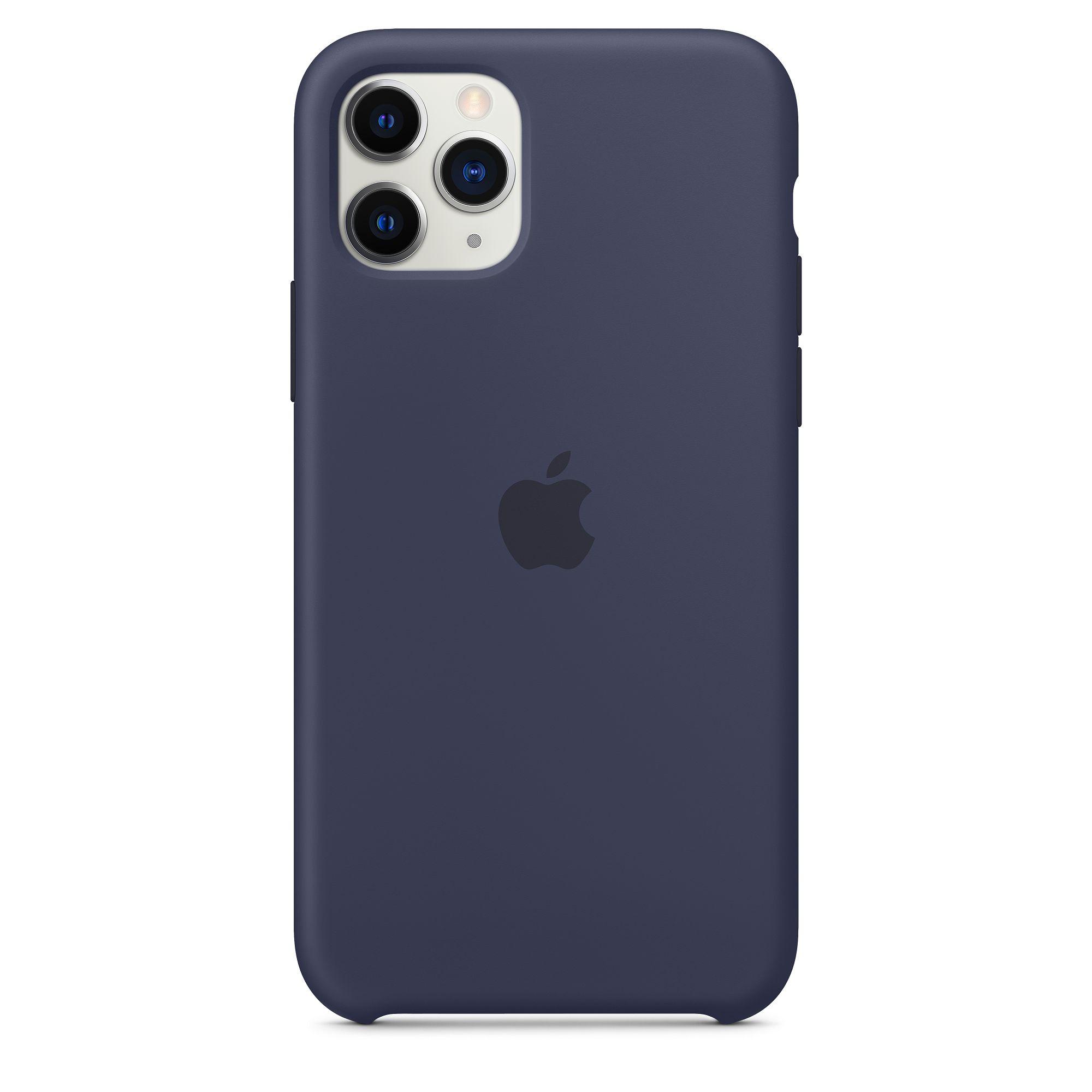 Чехол Apple для iPhone 11 Pro Silicone Case Midnight Blue MWYJ2