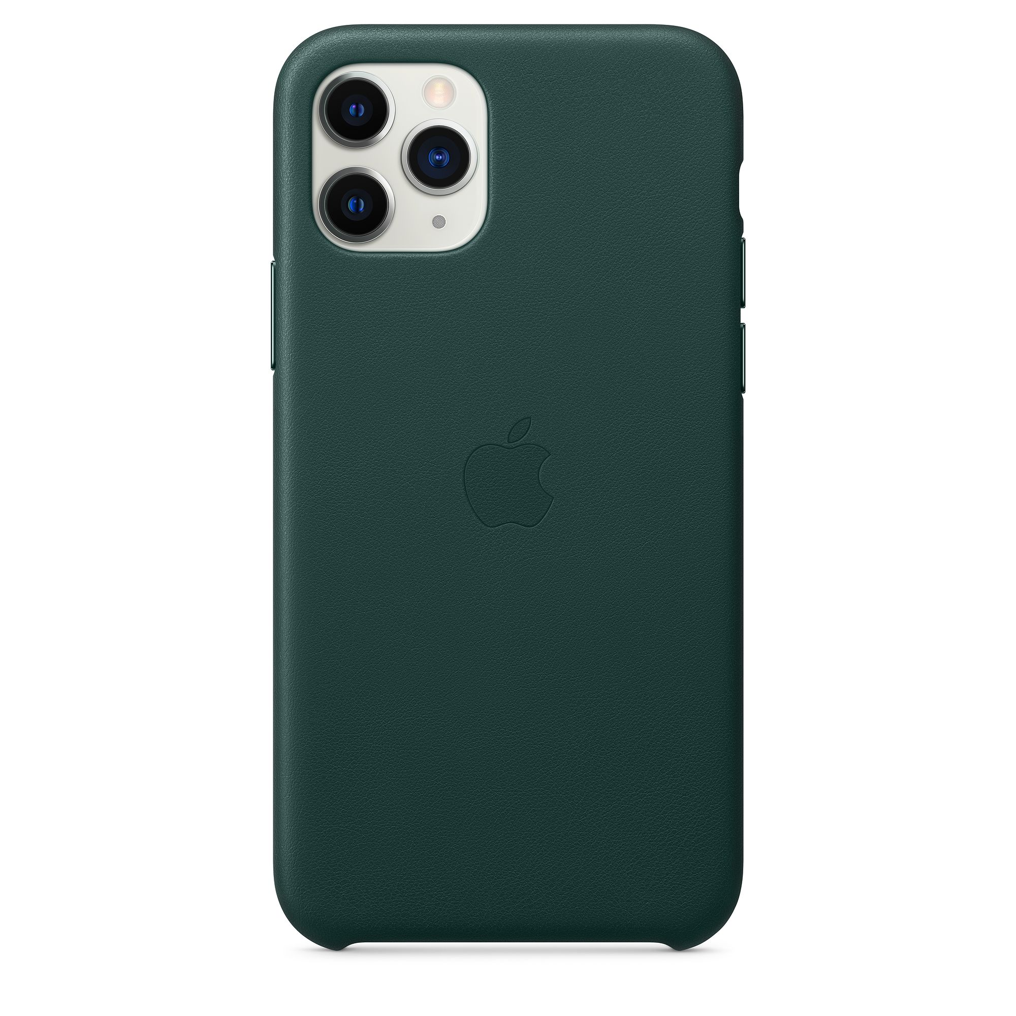 Чехол Apple для iPhone 11 Pro Leather Case Forest Green MWYC2