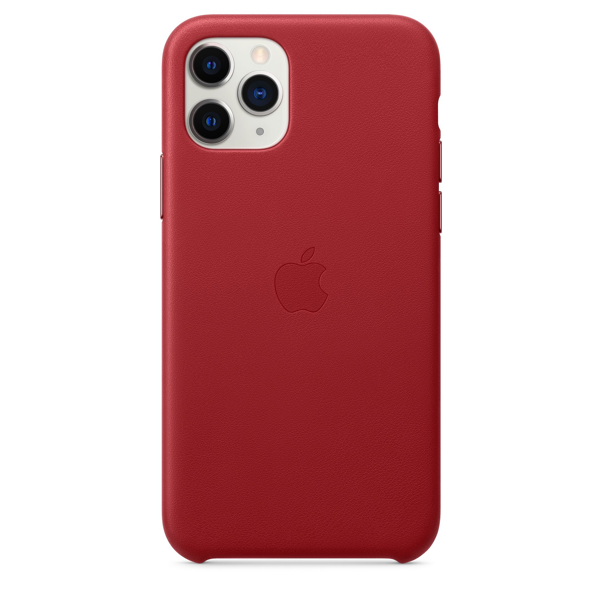 Чехол Apple для iPhone 11 Pro Leather Case (PRODUCT) RED MWYF2