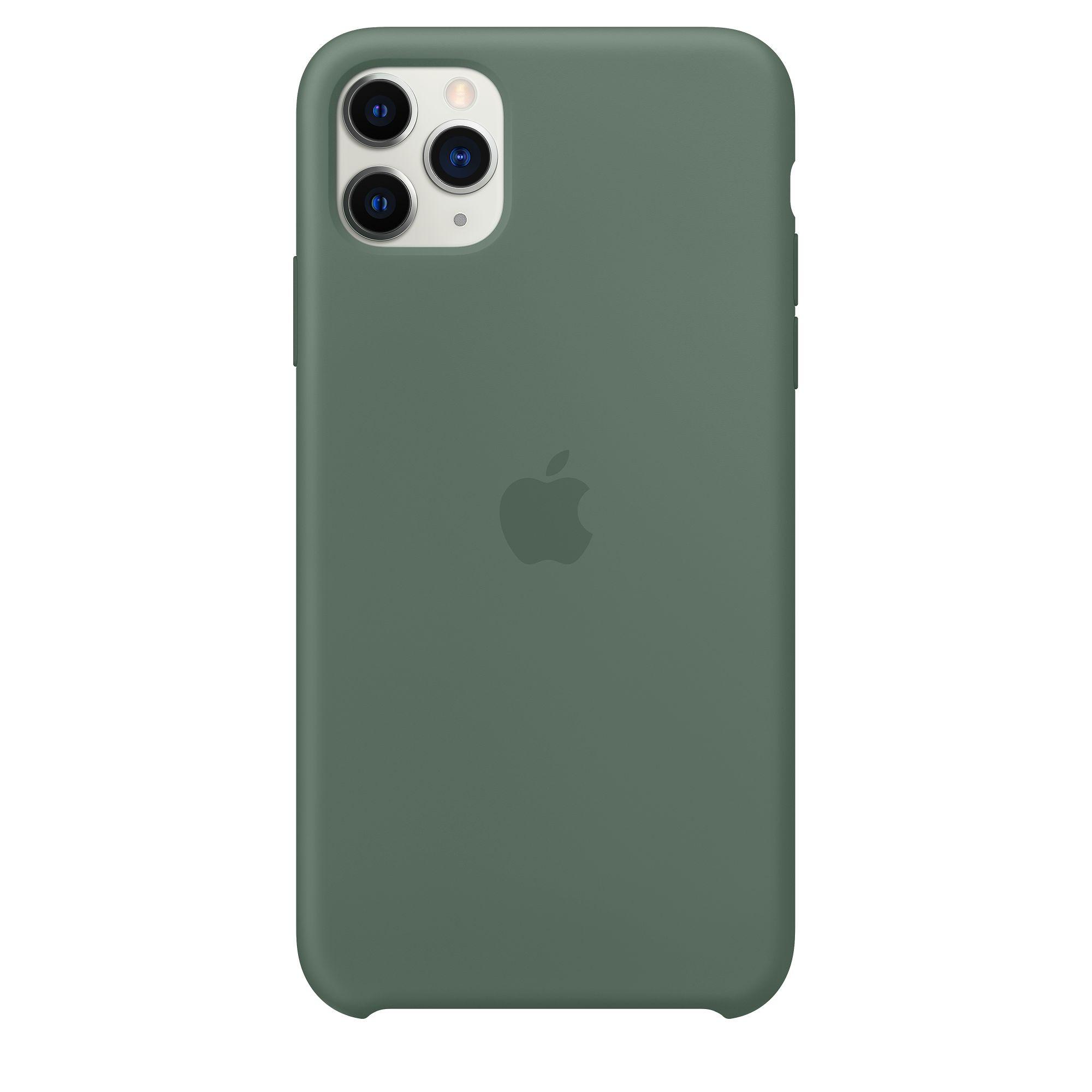 Чехол Apple для iPhone 11 Pro Max Silicone Case Pine Green MX012
