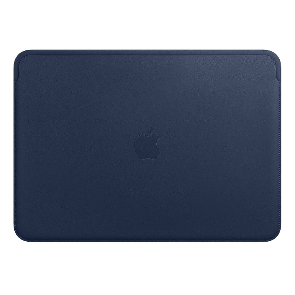 Чехол Apple Leather Sleeve for 13-inch MacBook Air and MacBook Pro Midnight Blue MRQL2