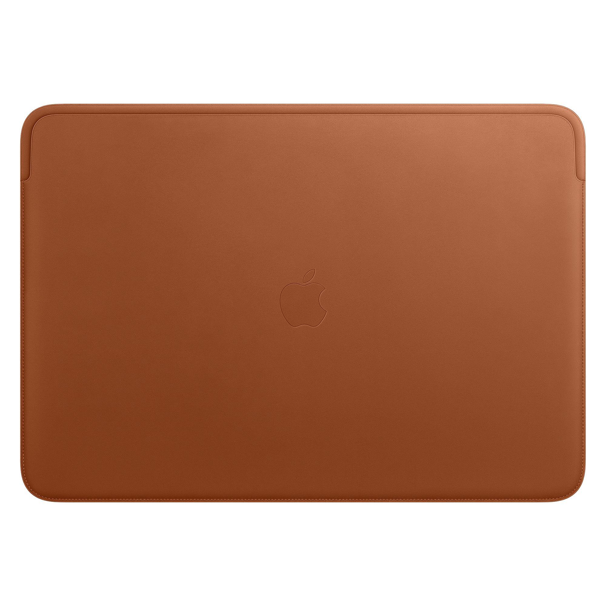 Чехол Apple Leather Sleeve for 16-inch MacBook Pro Saddle Brown MWV92