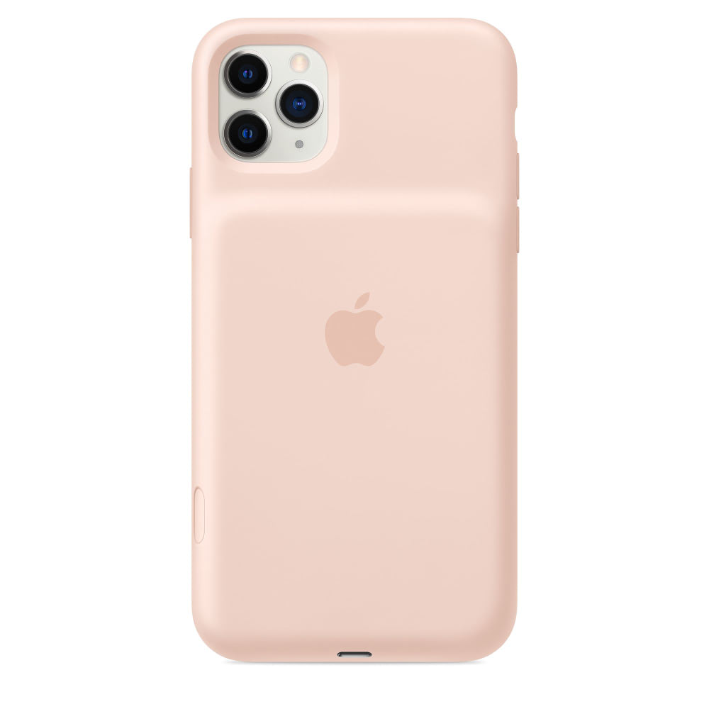Чехол Apple Smart Battery Case for iPhone 11 Pro Max Pink Sand MWVR2