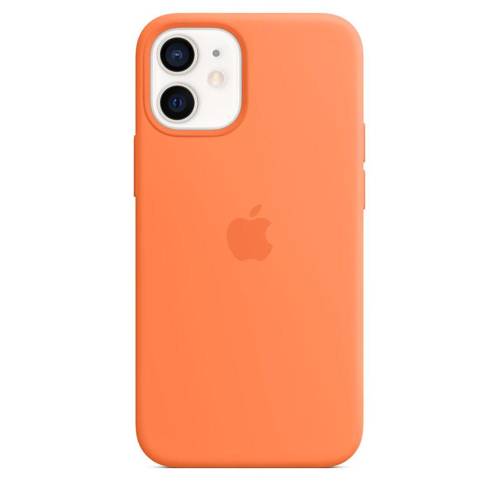 Чехол Apple для iPhone 12 mini Silicone Case with MagSafe Kumqua...