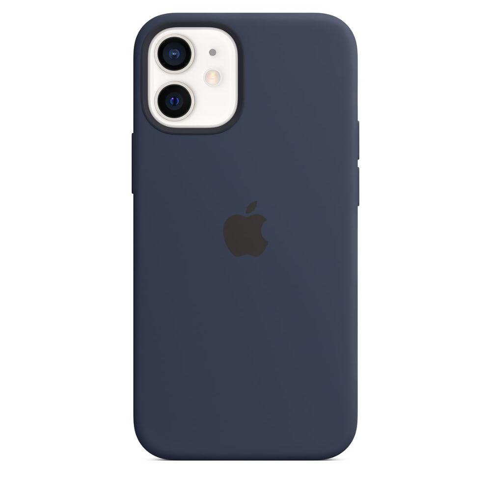 Чехол Apple для iPhone 12 mini Silicone Case with MagSafe Deep N...
