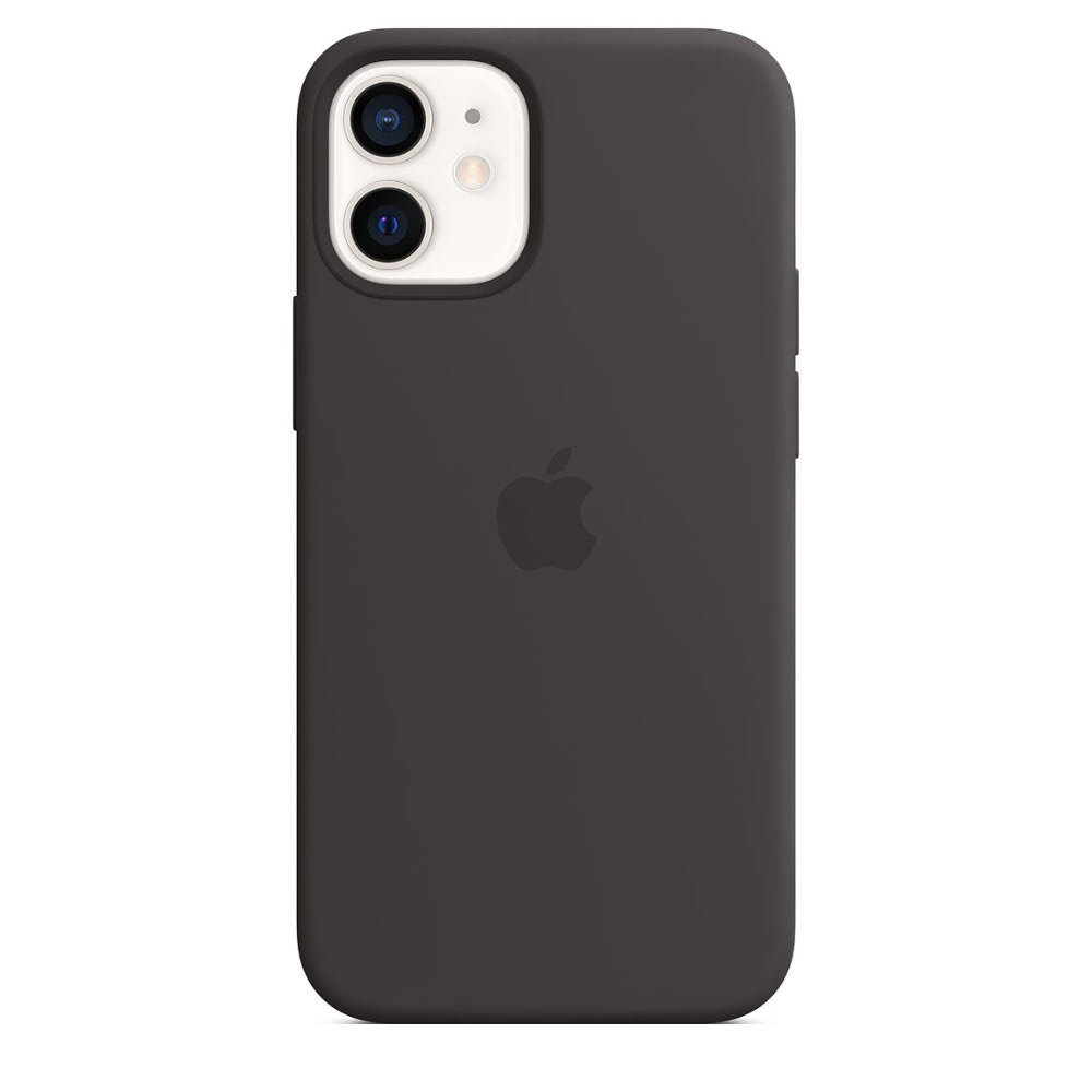Чехол Apple для iPhone 12 mini Silicone Case with MagSafe Black ...