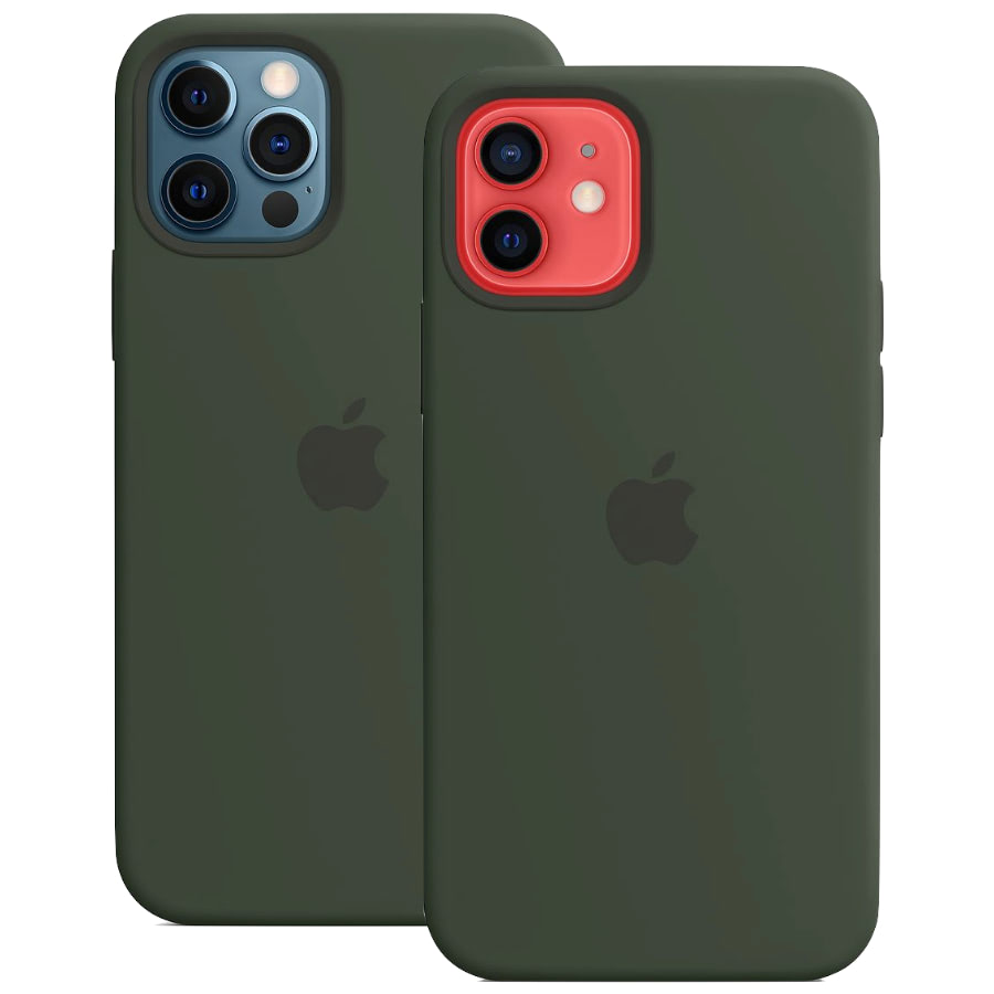 Чехол Apple для iPhone 12 / 12 Pro Silicone Case with MagSafe Cyprus Green MHL33
