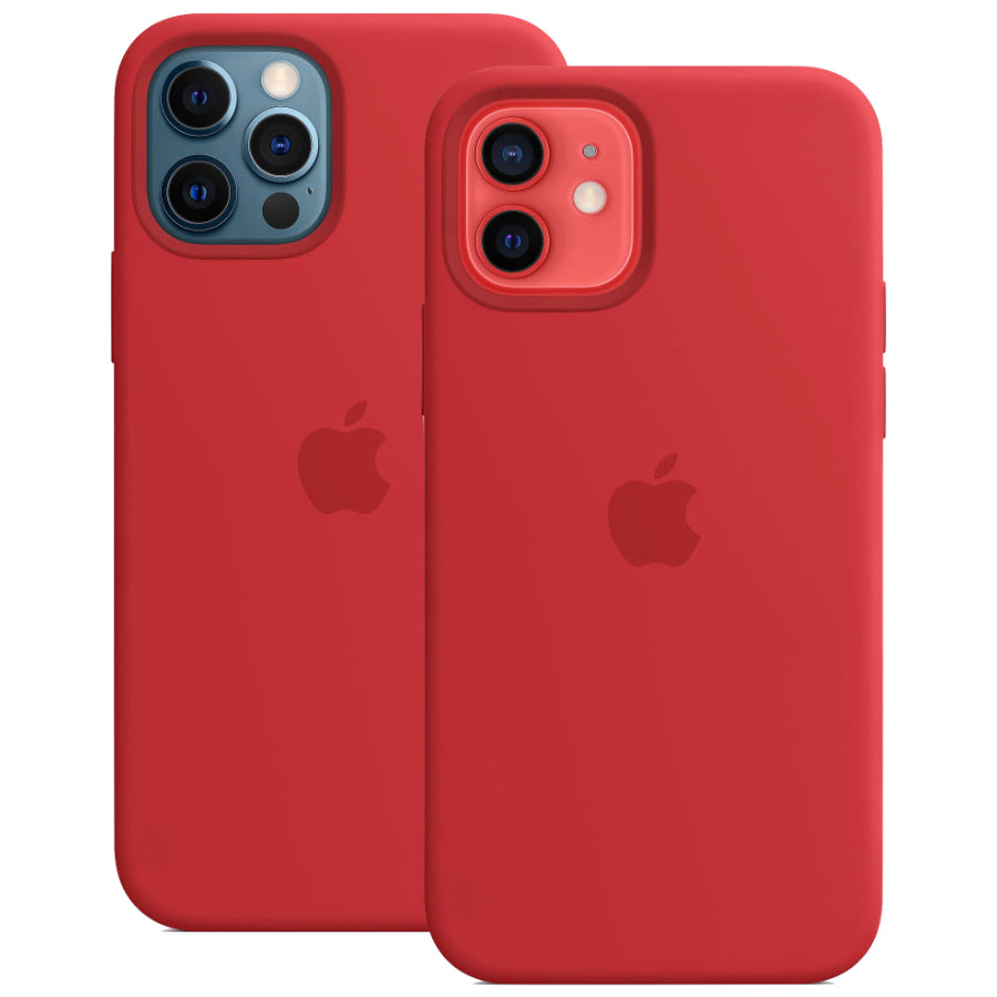 Чехол Apple для iPhone 12 / 12 Pro Silicone Case with MagSafe (PRODUCT)RED MHL63
