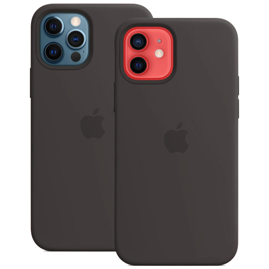 Чехол Apple для iPhone 12 / 12 Pro Silicone Case with MagSafe Bl...