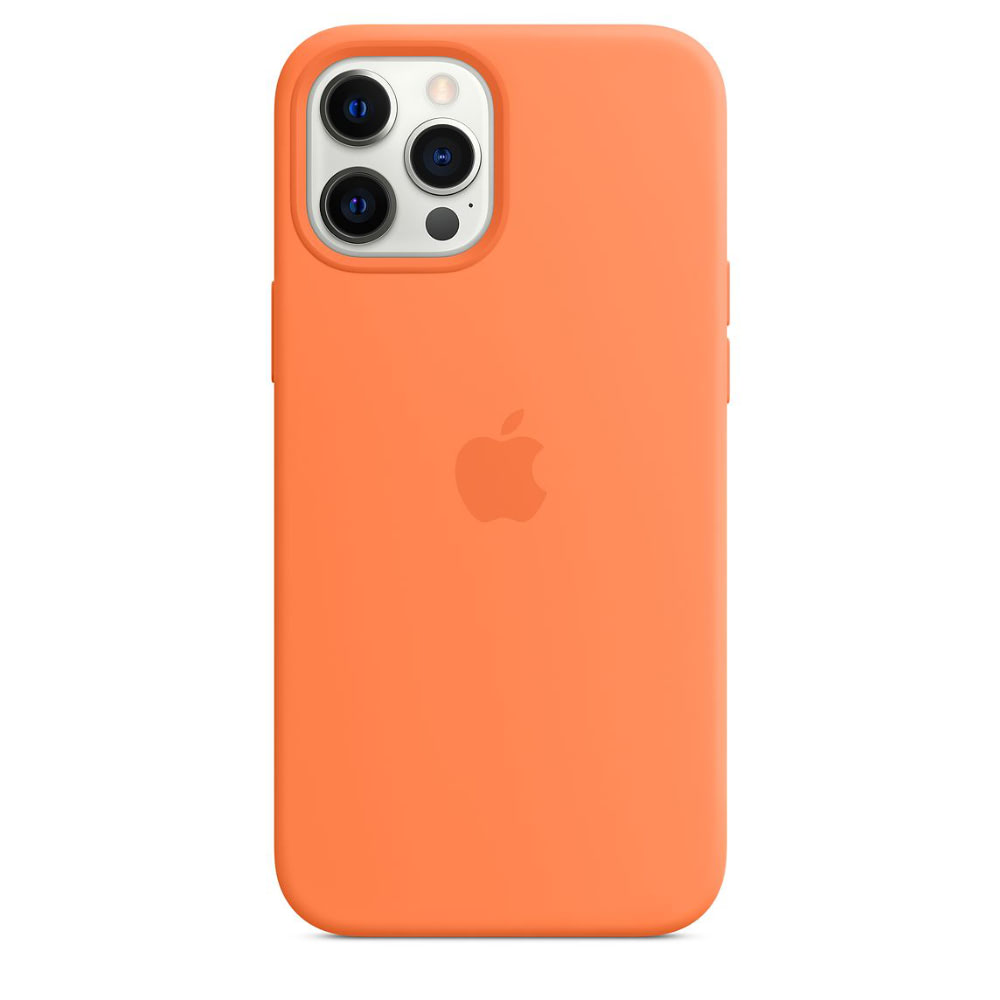 Чехол Apple для iPhone 12 Pro Max Silicone Case with MagSafe Kumquat MHL83