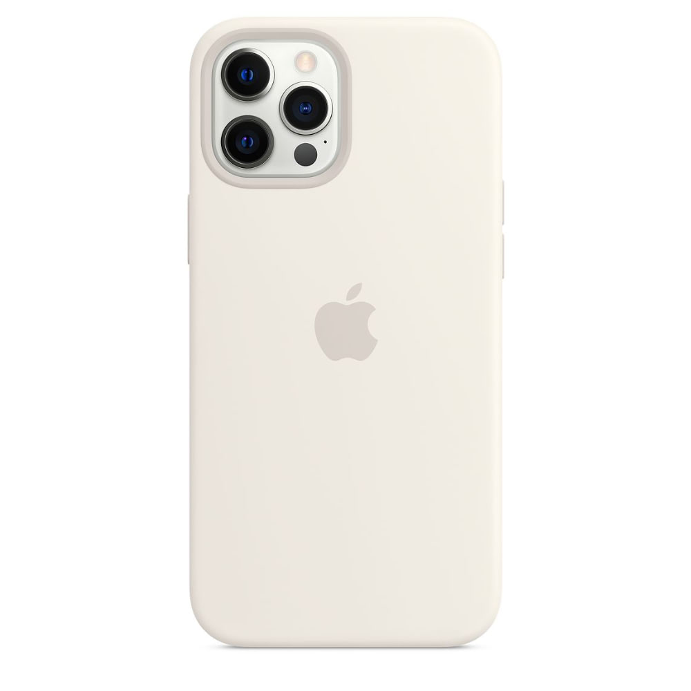 Чехол Apple для iPhone 12 Pro Max Silicone Case with MagSafe White MHLE3