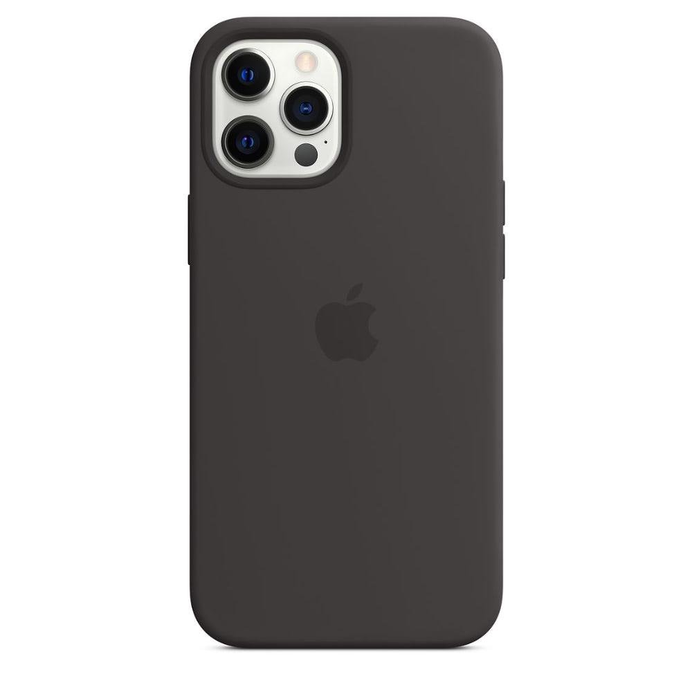 Чехол Apple для iPhone 12 Pro Max Silicone Case with MagSafe Bla...