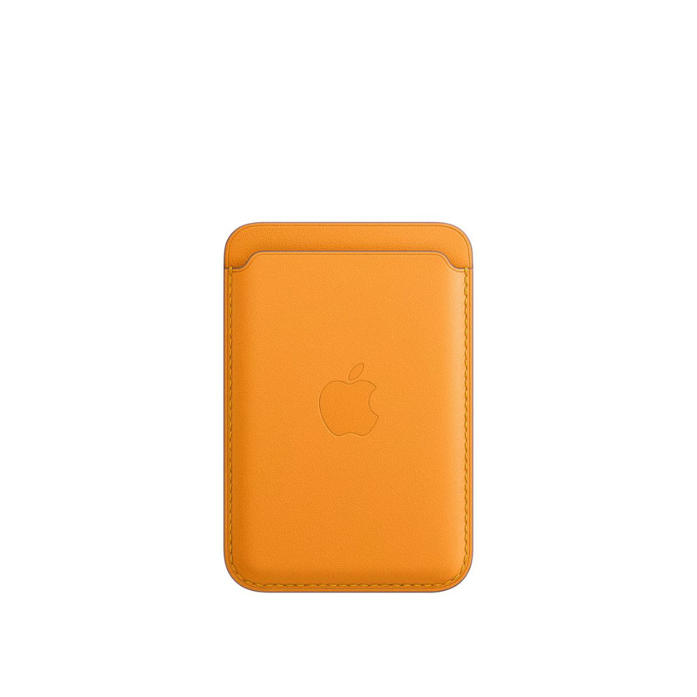 Чехол Apple для iPhone Leather Wallet with MagSafe California Po...