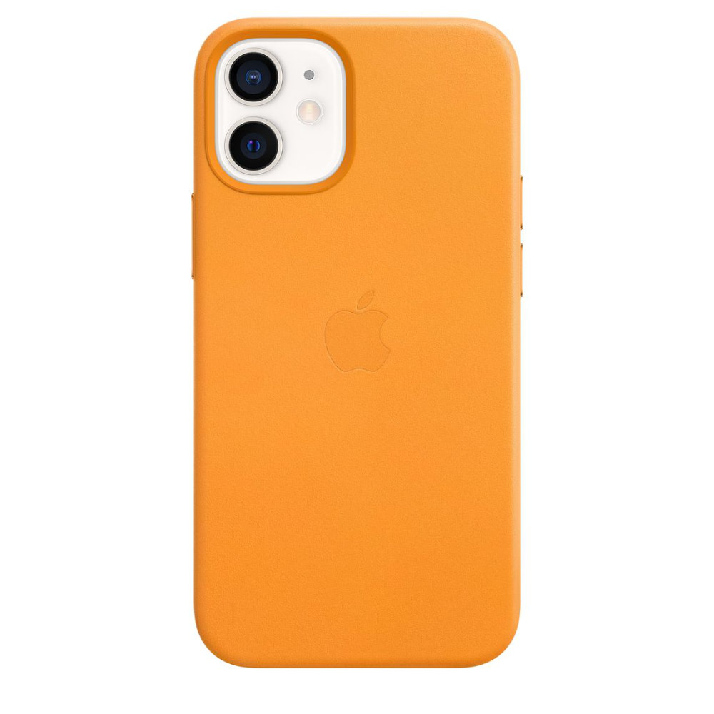 Чехол Apple для iPhone 12 mini Leather Case with MagSafe Califor...