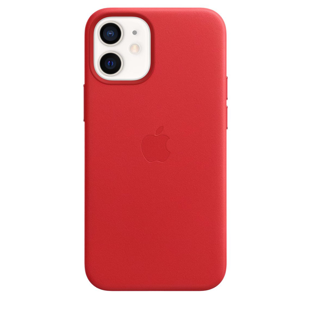 Чехол Apple для iPhone 12 mini Leather Case with MagSafe (PRODUCT)RED MHK73