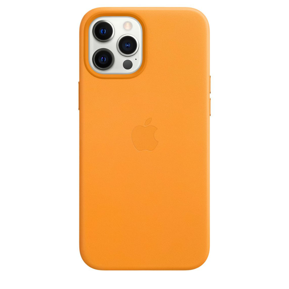 Чехол Apple для iPhone 12 Pro Max Leather Case with MagSafe Cali...