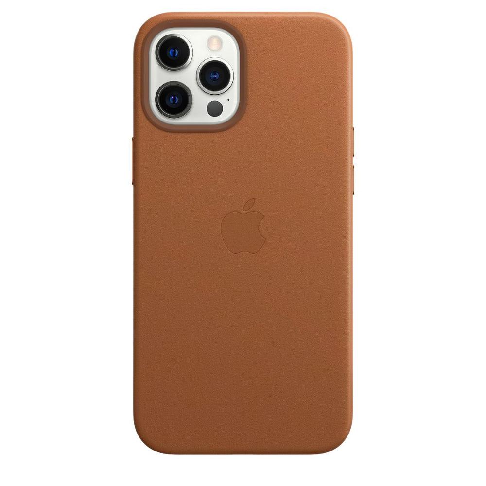 Чехол Apple для iPhone 12 Pro Max Leather Case with MagSafe Sadd...