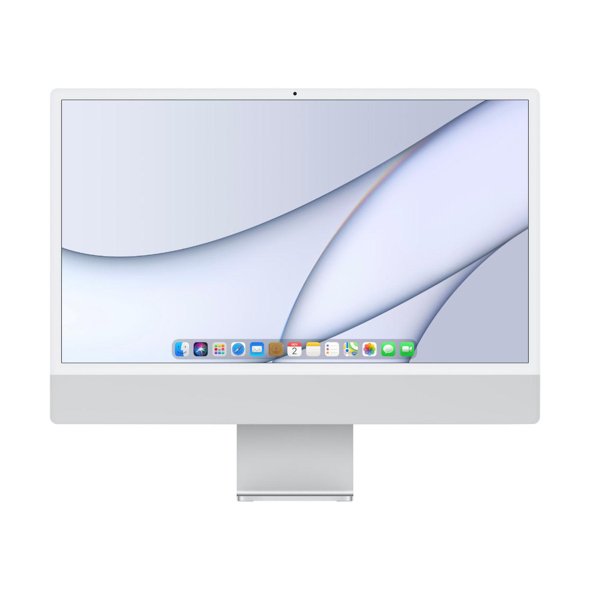 "Apple iMac 24"" 4.5K Silver MGPD3 (2021) M1 8-GPU"