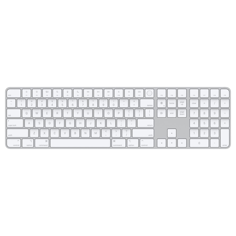 Клавиатура Apple Magic Keyboard with Touch ID and Numeric Keyp...